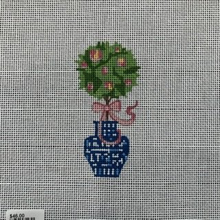 SB979 Topiary w/Pink Bow