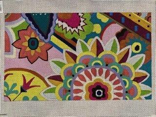 Floral Pattern Clutch CL020