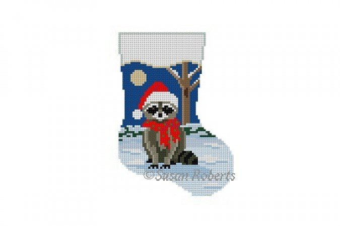 Night Raccoon Mini-Sock 5460