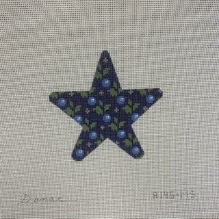 A145MS Floral Star Blueberry