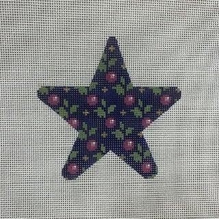 A146MS Floral Star Raspberry