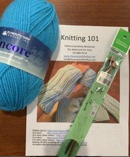 Begin to Knit Kit