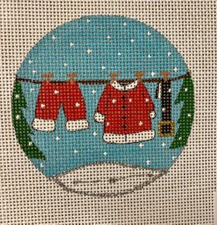 Santa Clothesline X388