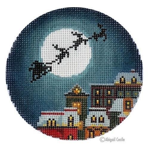 AC 012 - Christmas Eve Town Ornament