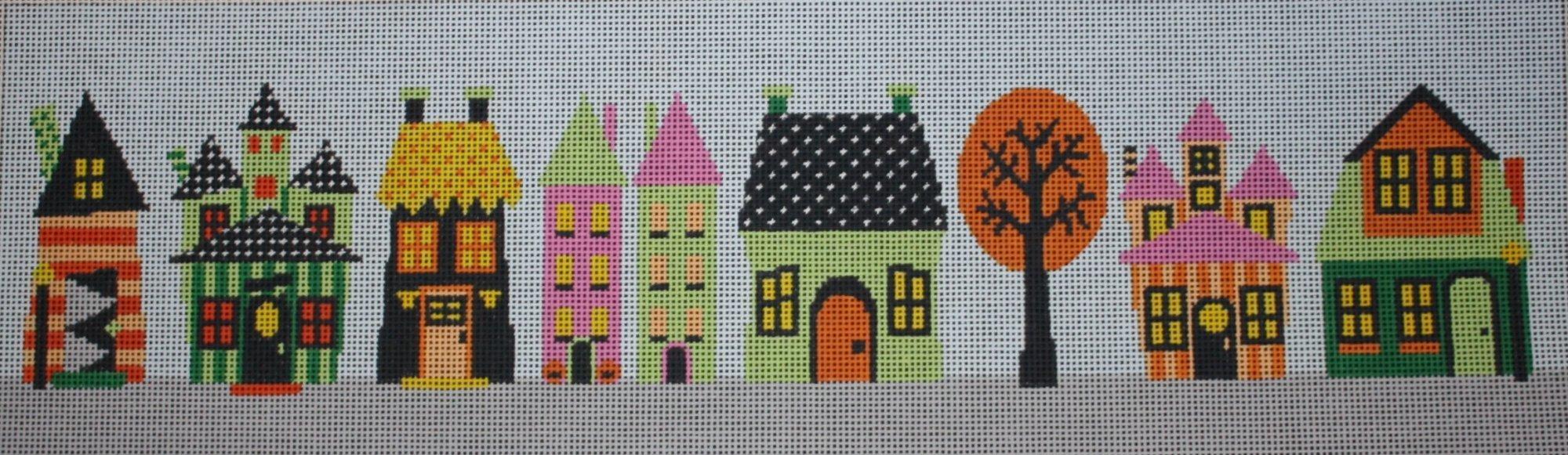 ASIT082 Halloween Village
