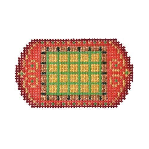BB 3215 Santa Set #5 - Sleigh Checkered Pattern