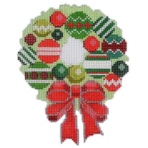 BB6180 Baubles Wreath