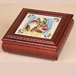 Betsy Box (5x5)-Mahogany