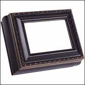 Black Rectangle Treasure Box