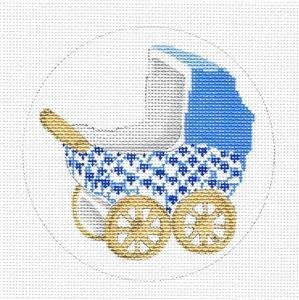 Baby Carriage-Blue EG-XO65