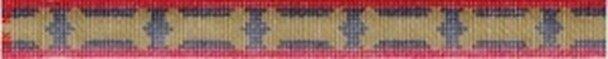 Bones & Stripes Dog Collar 636