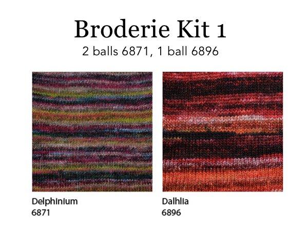 Berroco Broderie Kits