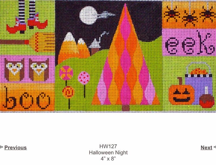 Halloween Night Collage HW127