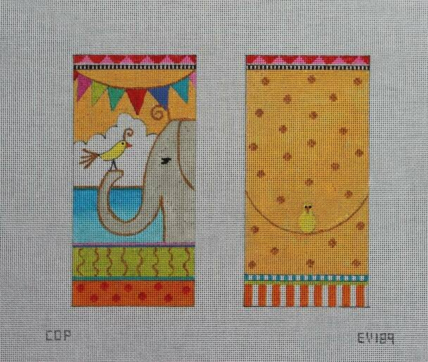 Bird and Elephant Eyeglass Case EY189