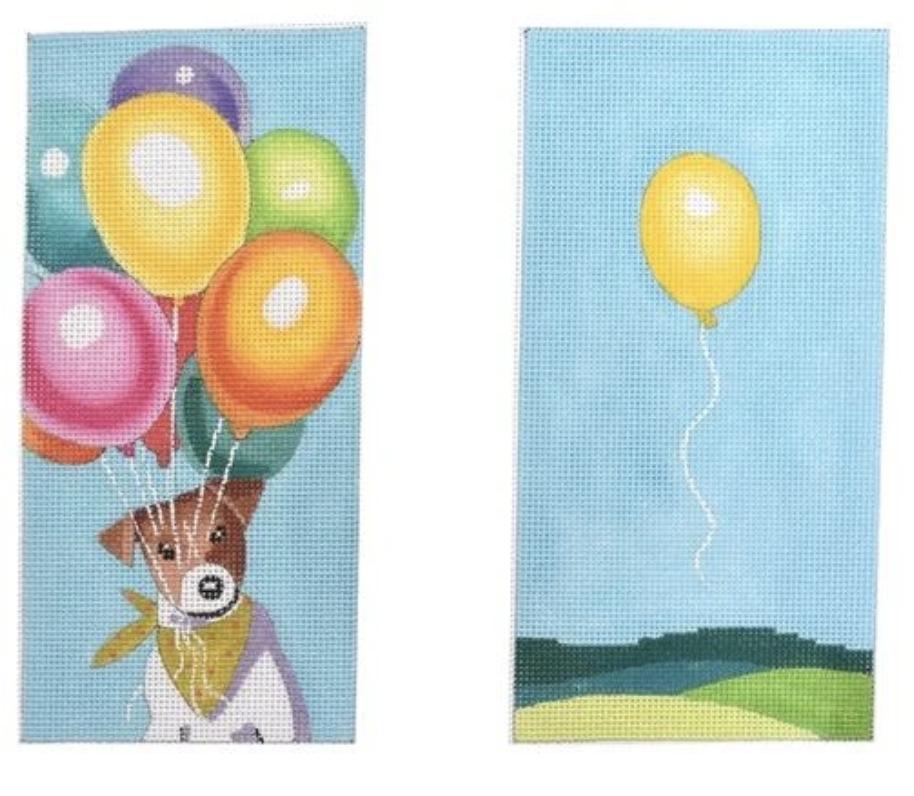 Dog w/ Balloons Eyeglass Case EY201