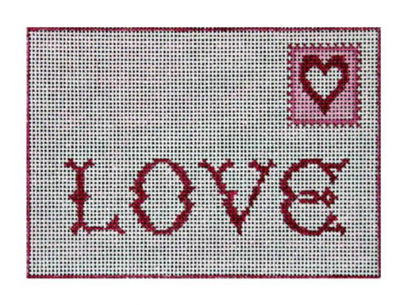 Love Postcard F-3618