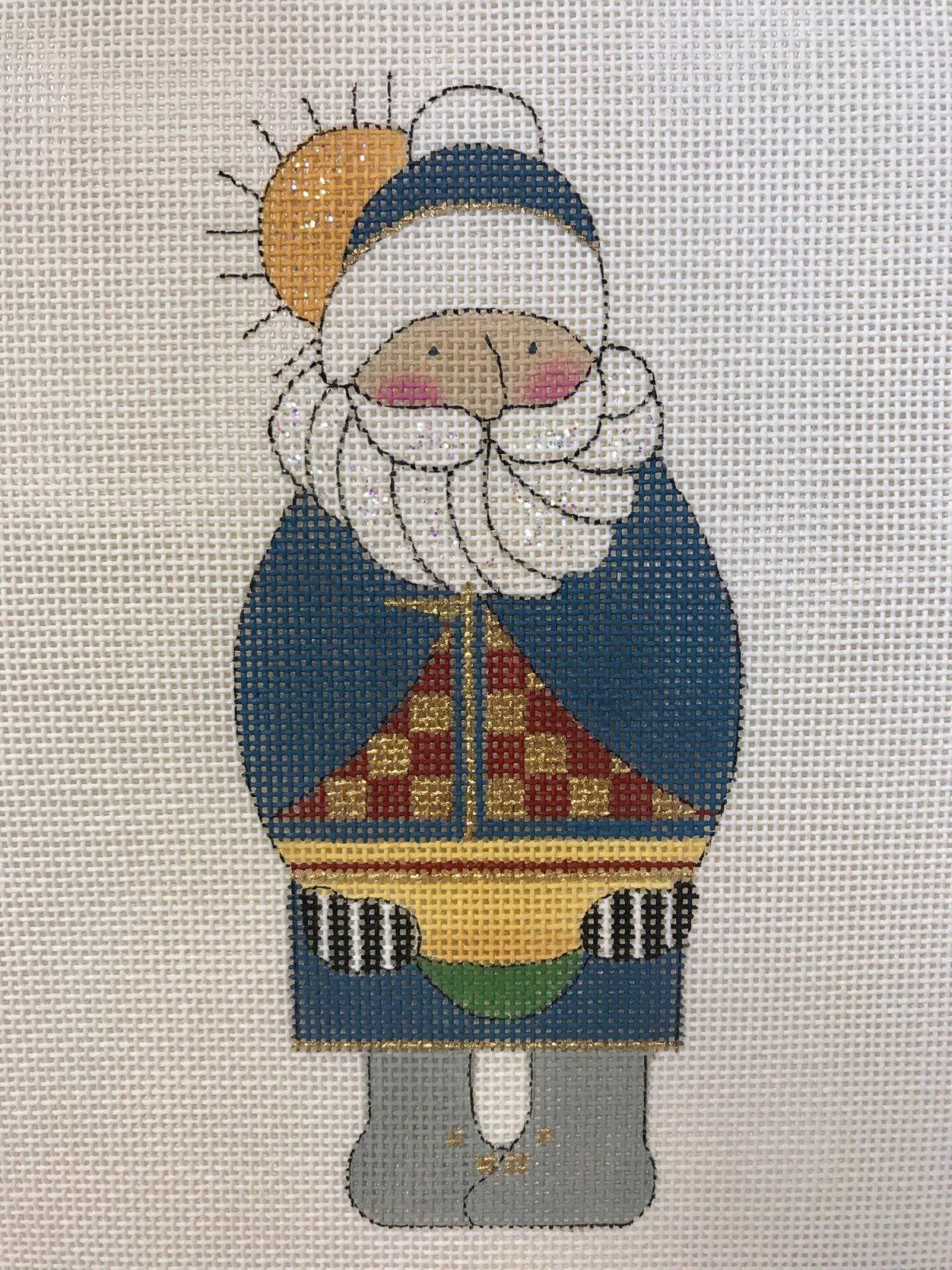 Nautical Santa w/SG