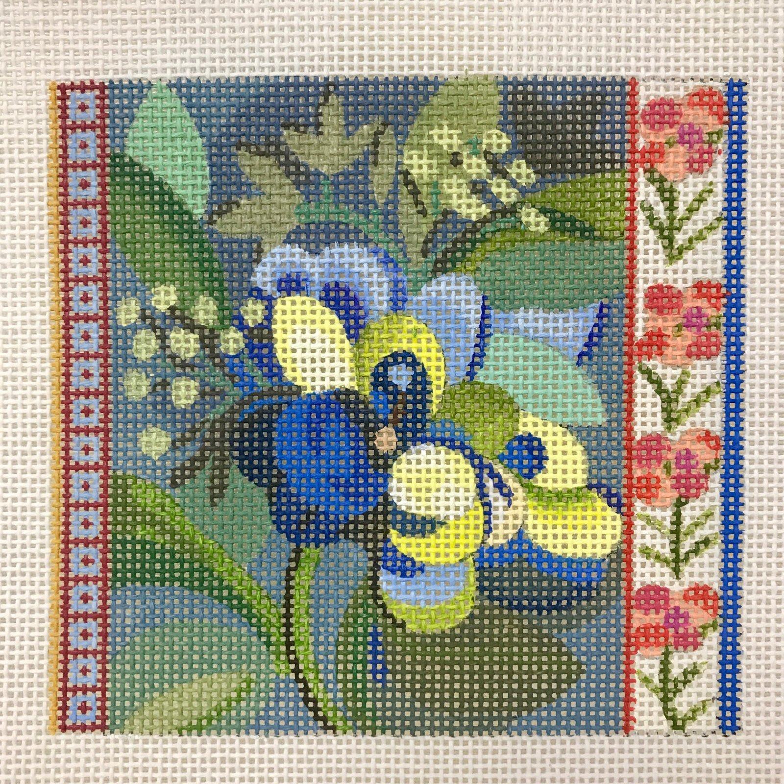 640B Floral Coaster