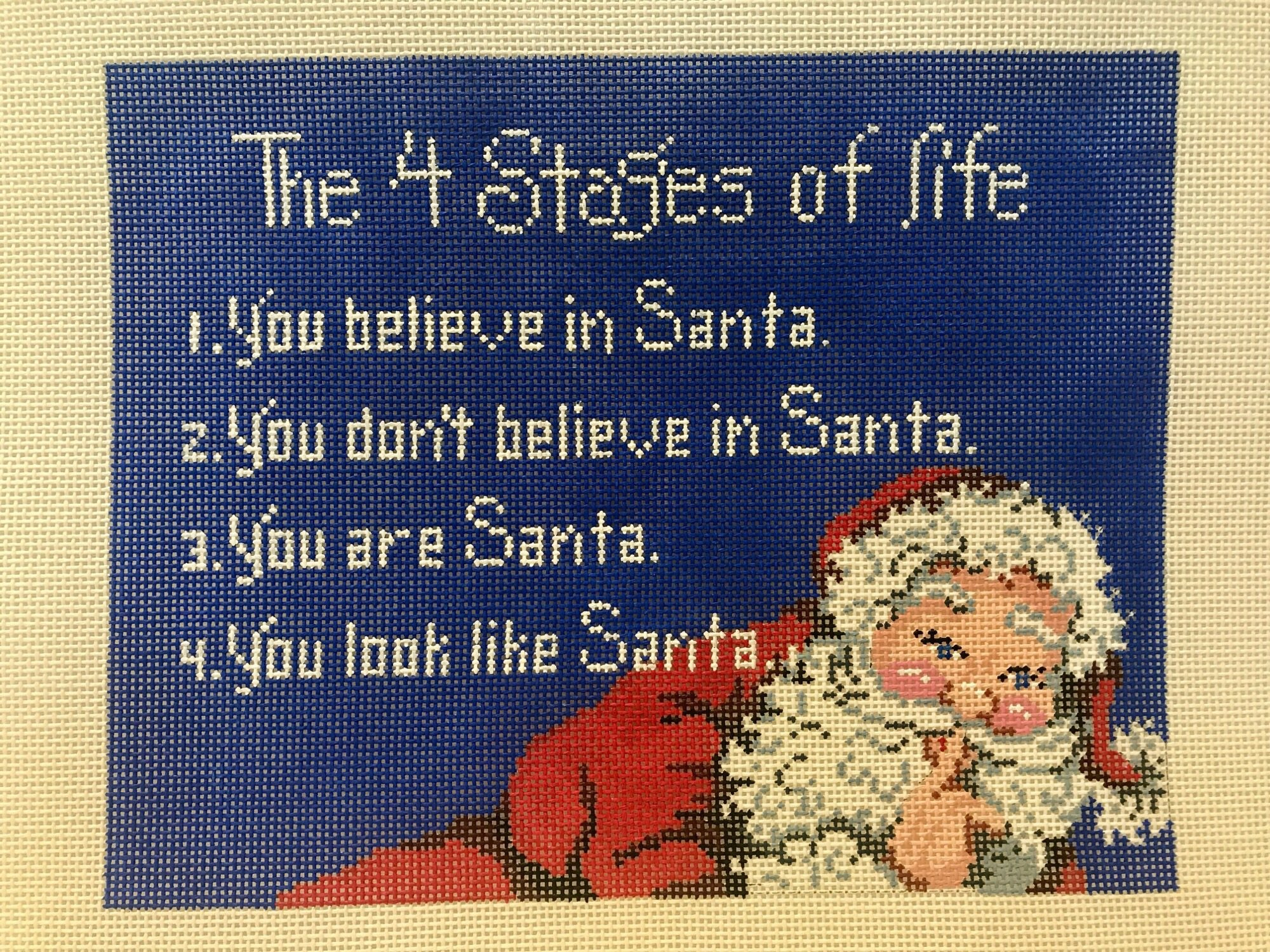 7354 Stages of Life Santa