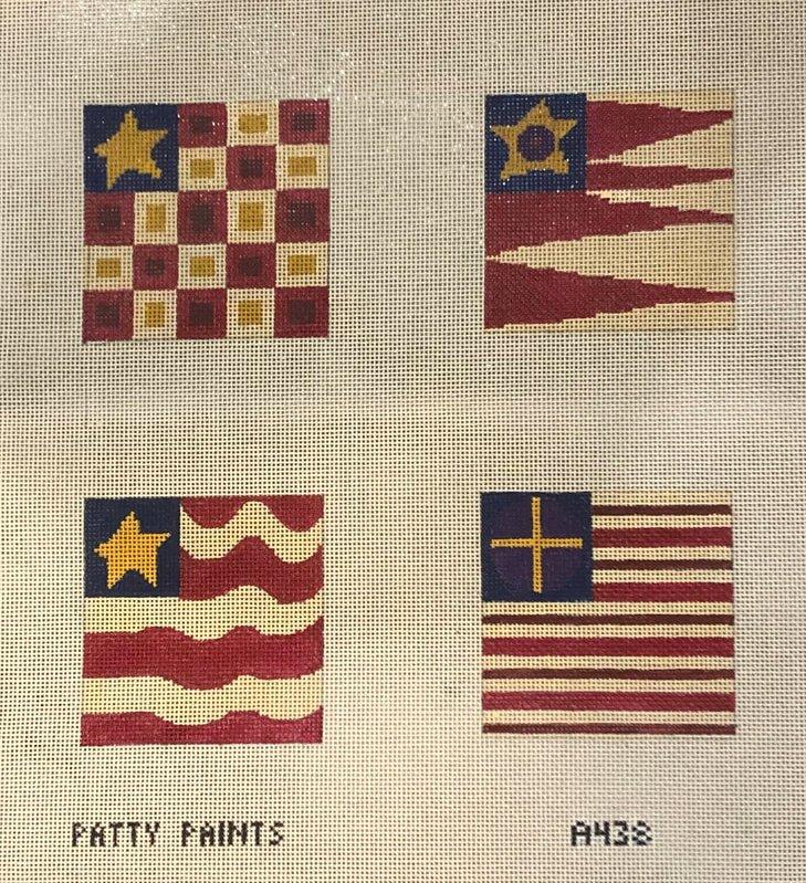 Flag Coasters A438