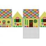 Fruit Slice & Lollipops Gingerbread House 6261