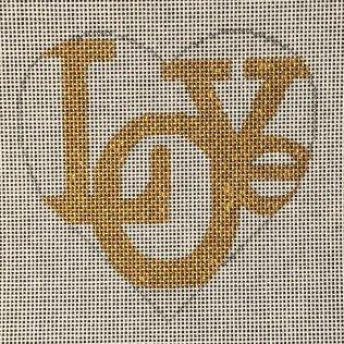 H-11 Love Gold Heart