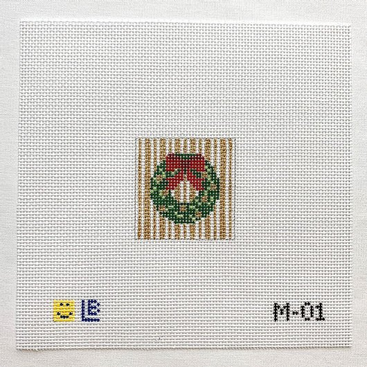 Holiday Wreath Miniature M-01