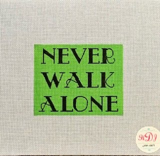 Never Walk Alone Lt Green HJ-JFF-007-18