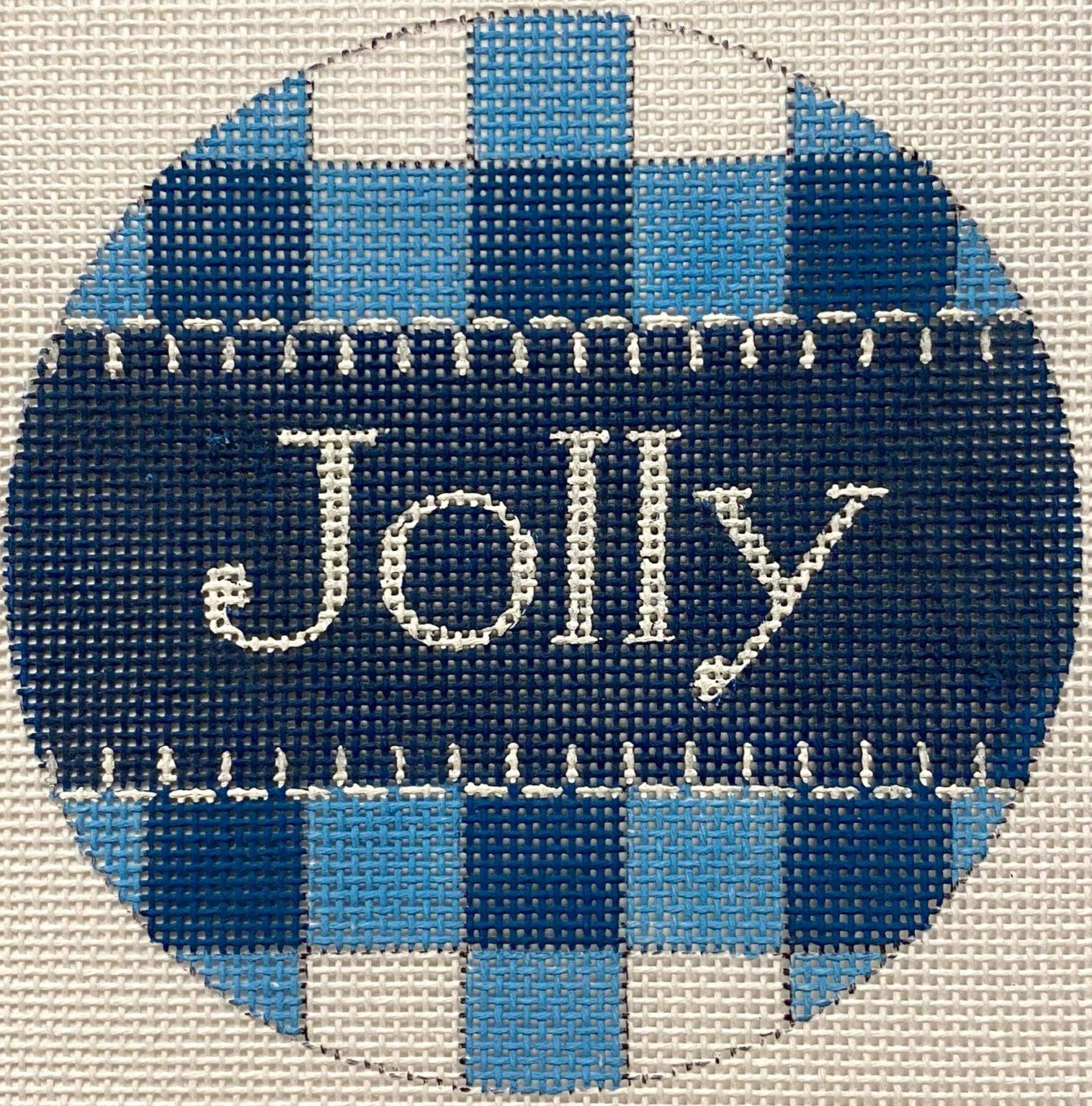 Jolly Blue Gingham X461