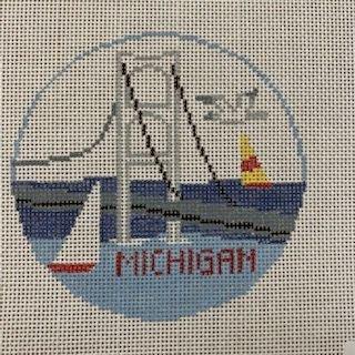 Michigan Ornament BT760