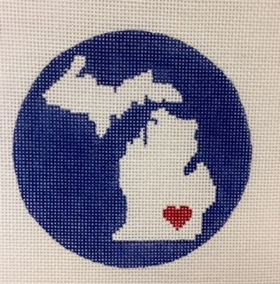 State of Michigan Ornament