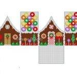 Life Saver Gingerbread House 6259