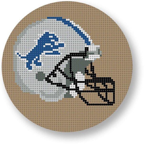 Detroit Lions Football Helmet 1018