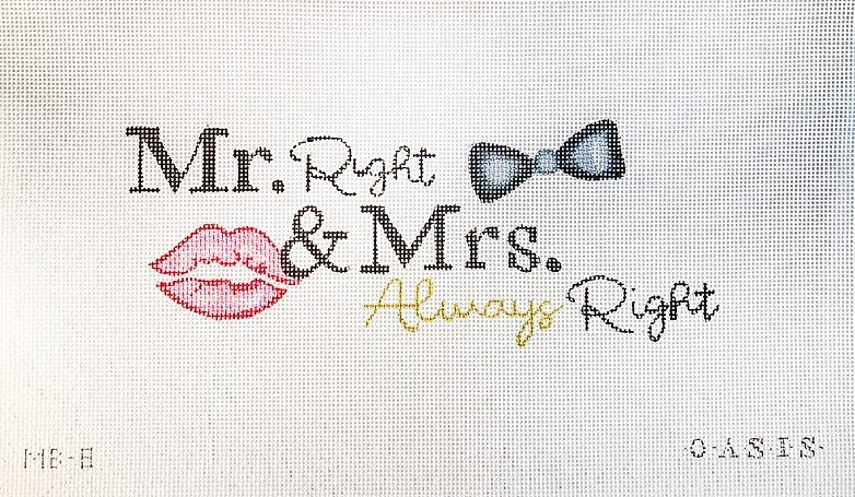 Mr. Right & Mrs. Always Right MB-8