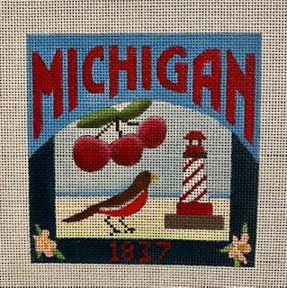 Michigan 1837 w/Robin-DD-325