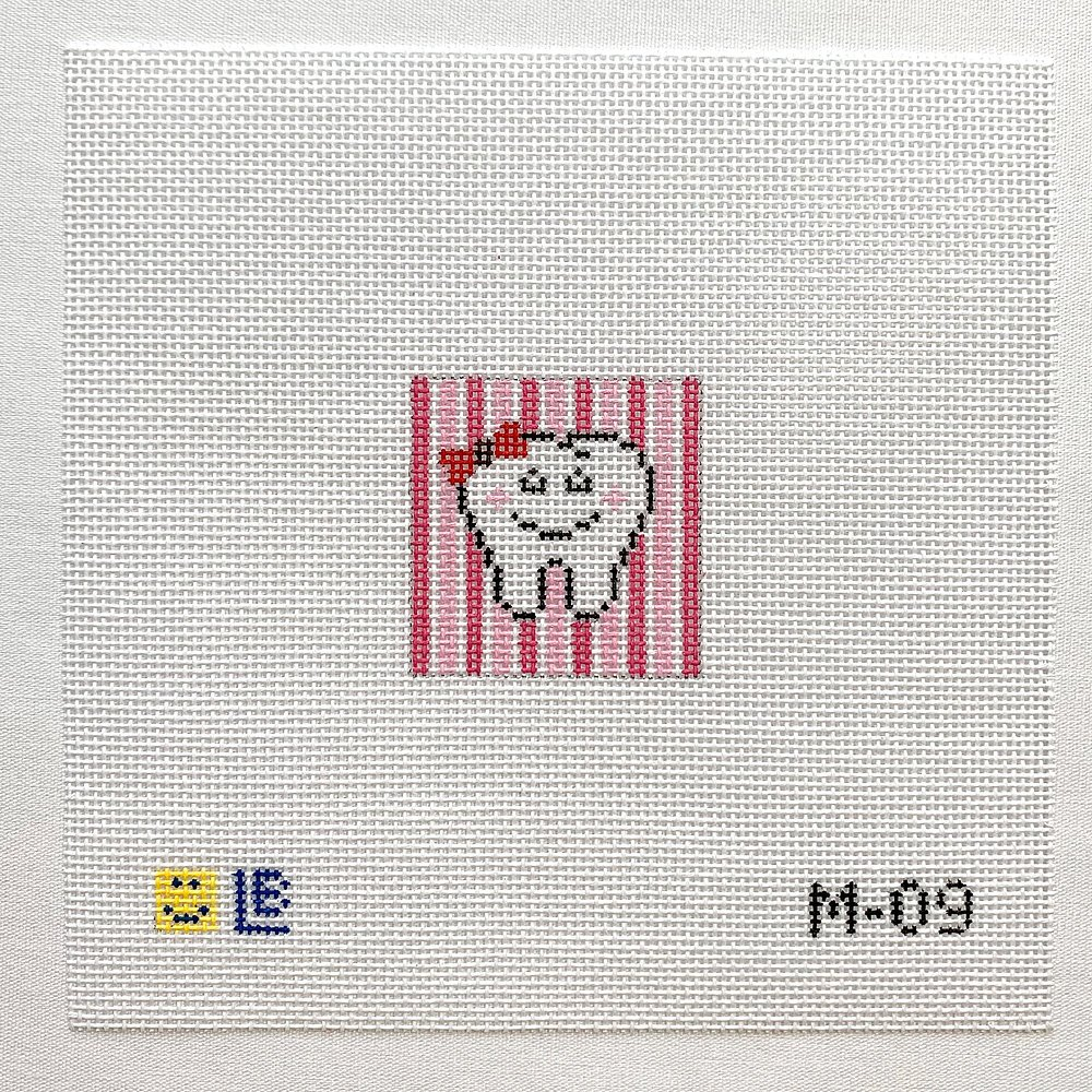 Mini Tooth (Pink) M-09