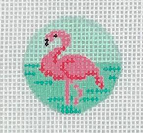 PKR-06 Flamingo Key Fob Insert