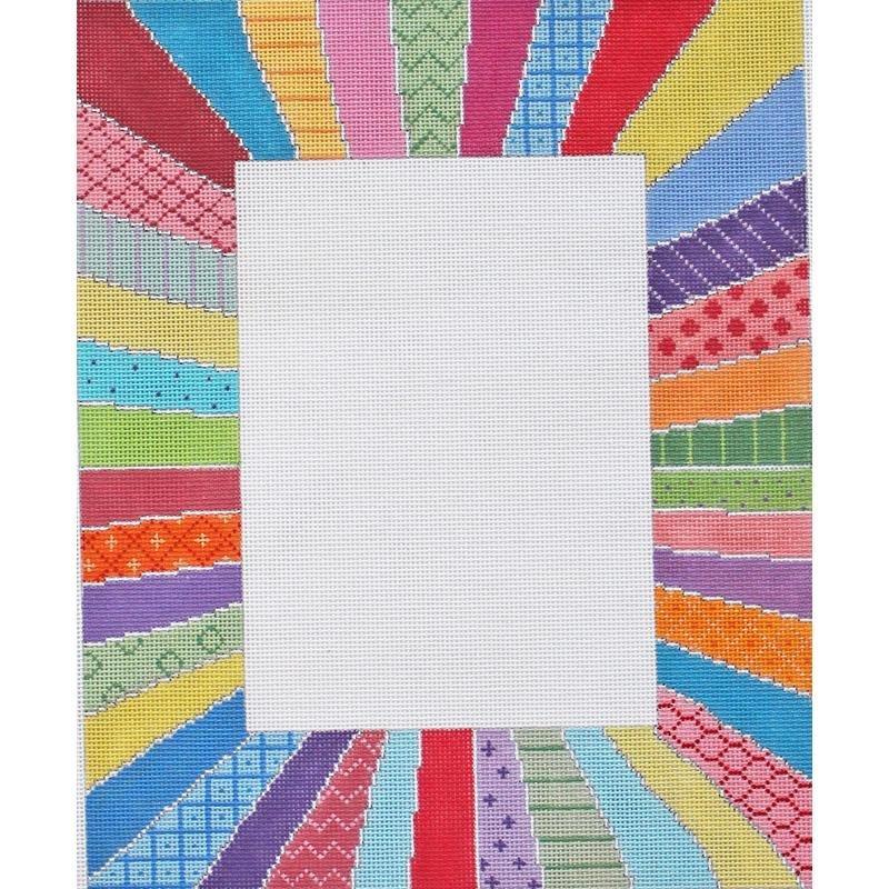 Pastel Rainbow Picture Frame SU 506
