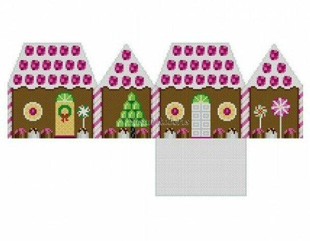 Raspberry & Chocolate Gingerbread House 5242