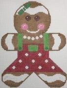 Mini Gingerbread Girl Red 200-2