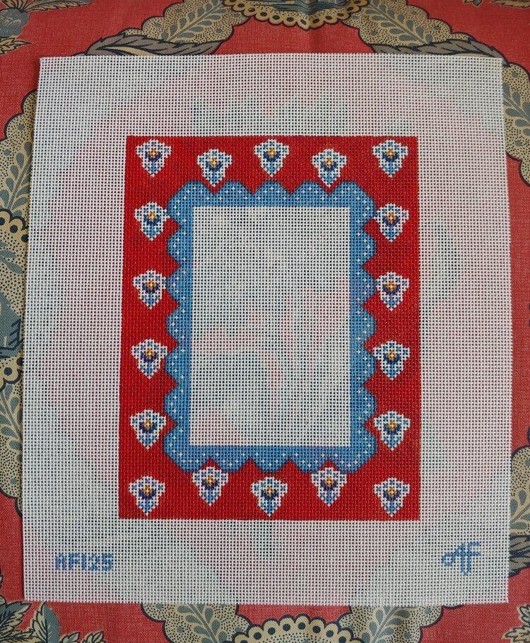 Red and Blue 4 x 6 Frame AF125