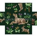 Cluny Rabbits & Hound Brick Cover #13 0396