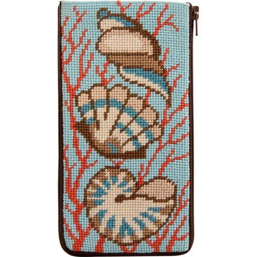 Shells & Coral Eyeglass Case SZ494