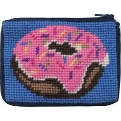 Pink Donut Kids Coin Case SZ8109