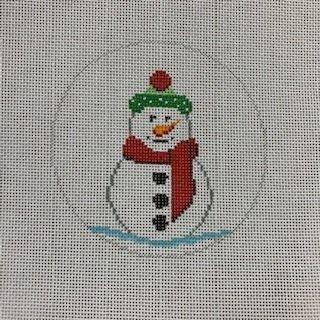 Winter Hat Snowman / Globe