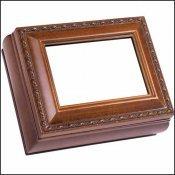 Wood grain Rectangle Treasure Box