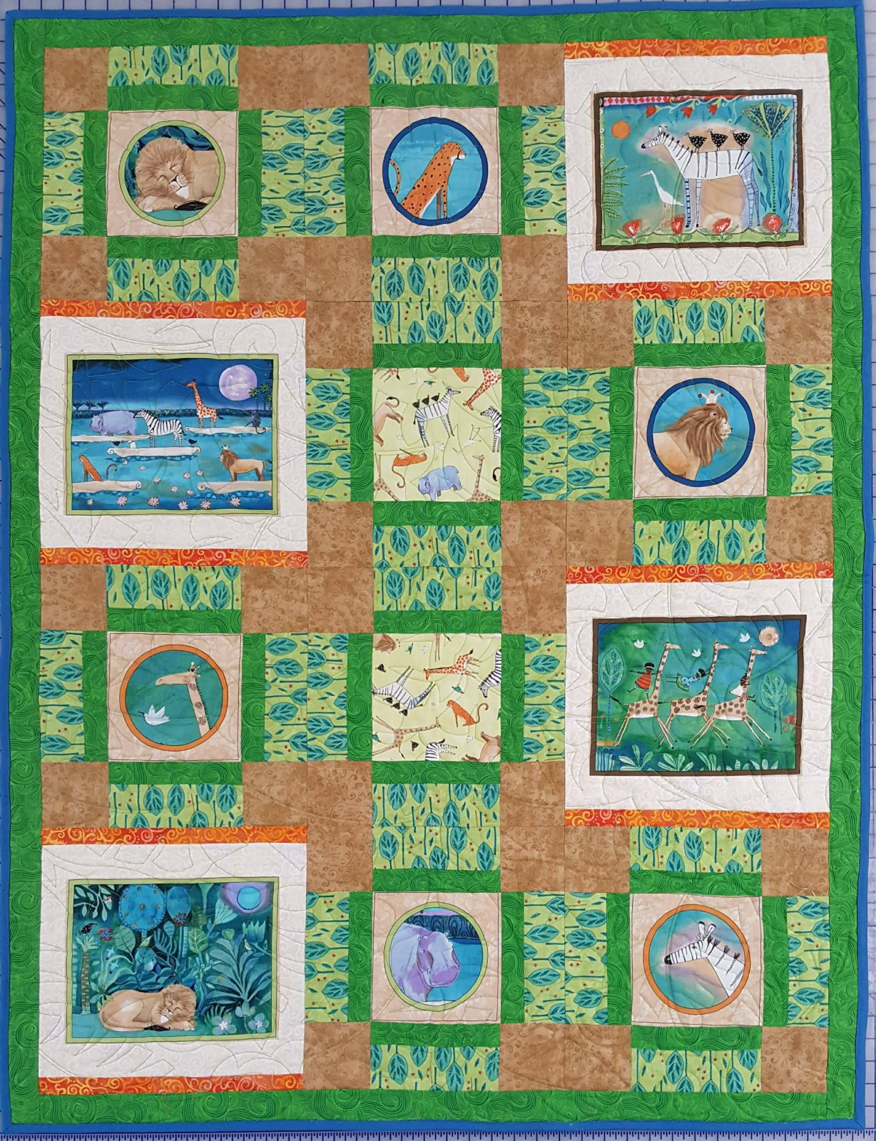 Migration baby quilt kit 38 x 50