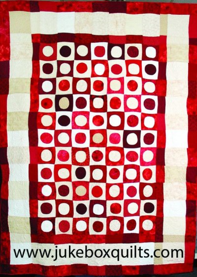 Funky Checkers by Kelly Gallagher-Abbott