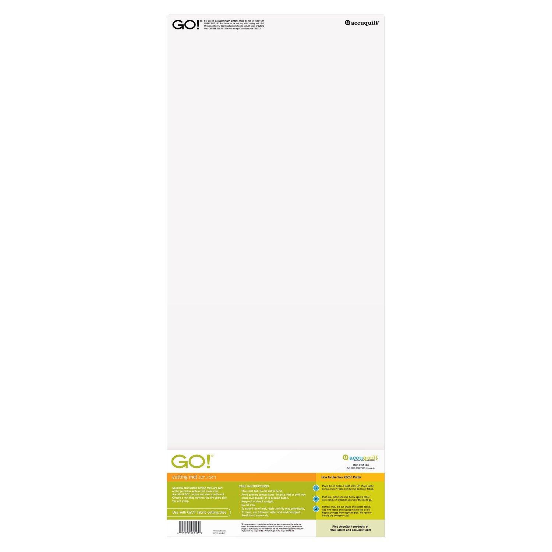 Accuquilt Go Cutting Mat 10 X 24 699195551130