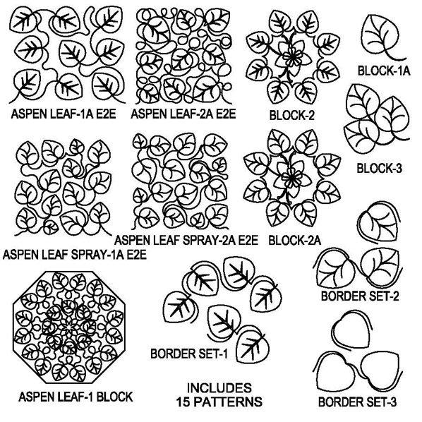JBDG Aspen Leaves package